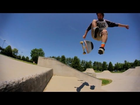 Christiansburg/Blacksburg Skatepark Montage - Memorial Day 2013 - Virginia - Thunderwood