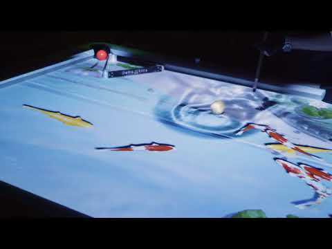 Amazing Trick Shots on Digital Interactive Pool Table -- IPOOL