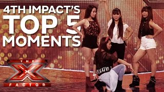 4th Impact's X Factor Highlights | X Factor 2015