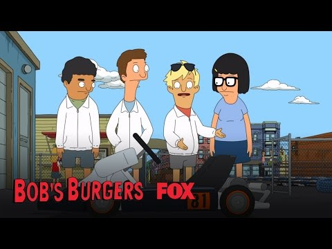 Bob's Burgers 5.09 (Clip 'Tina on Wheels')