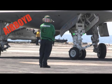 Launch - Video Credit: U.S. Navy Mass Specialist 2nd Class Gregory Wilhelmi U.S. Navy photo courtesy of Northrop Grumman by Alan Radecki From Naval Air Systems Comman...