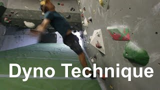 Dyno 101 - Climbing for beginners by Bouldering Bobat