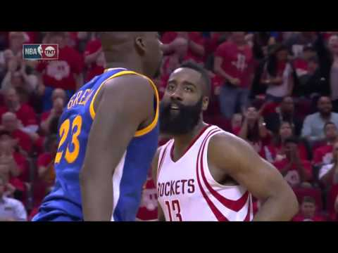NBA Highlights: Warriors @ Rockets Game 3 4/21/2016