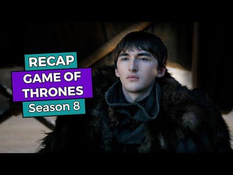 RECAP!!! - Game of Thrones: Season 8