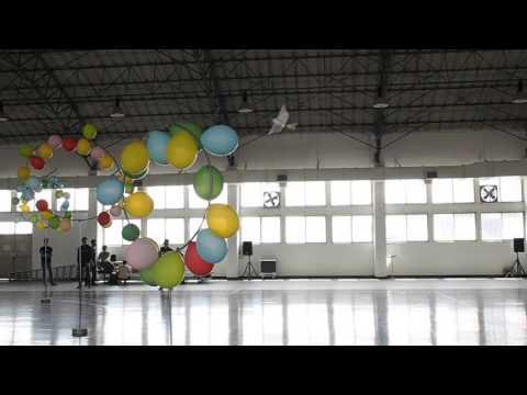 2016台灣無人飛機創意設計競賽 拍翅翼組空軍官校會場