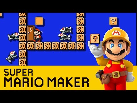 Super Mario Maker - Dangerous Depths