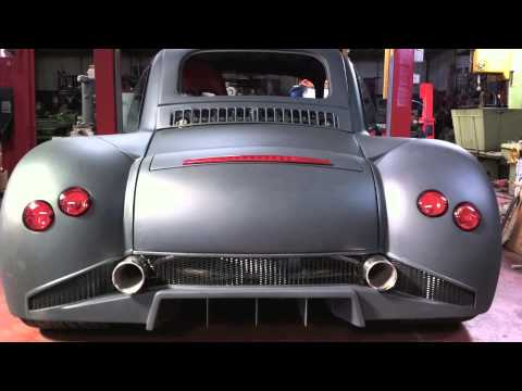Fiat 500 Lamborghini V12 580 hp