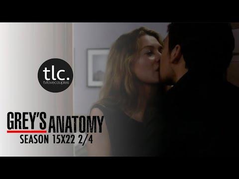 Greys Anatomy Meredith & Andrew DeLuca (MerLuca) Season 15x22 2/4