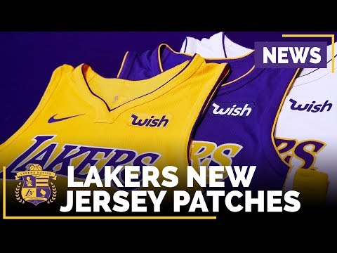 Video: Lakers New Jersey Ad Patches - Like It or Hate It?