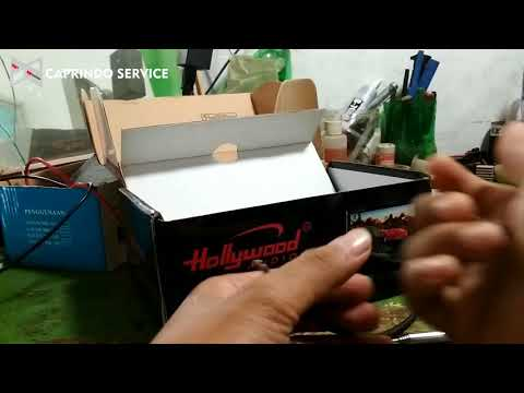 Unboxing Paketan  Tv Mini