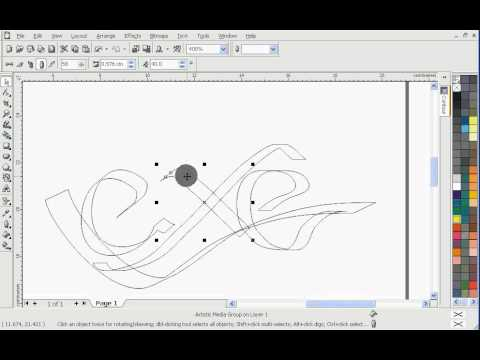 How To Learn Basic Tool Object Design Corel DRAW
