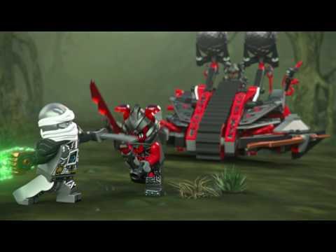 Vidéo LEGO Ninjago 70624 : La catapulte Vermillion