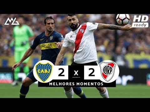 Boca Juniors 2x2 River Plate - Melhores Momentos (HD) Final - Copa Libertadores