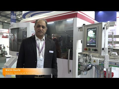 B&R Interviews Director Mr. Nikhil Baste featuring new Profile Hot Stamping, PHS machine in PlastIndia 2018