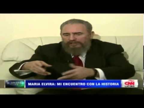 elvira castro - La periodista María Elvira Salazar recordó en su programa de CNN Latino la entrevista que le realizó al entonces máximo dirigente de Cuba, Fidel Castro. Dura...