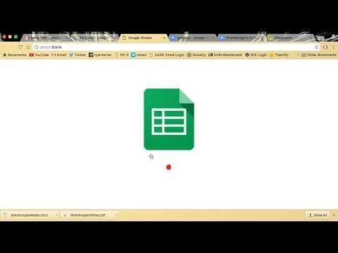 google docs convert pdf to excel