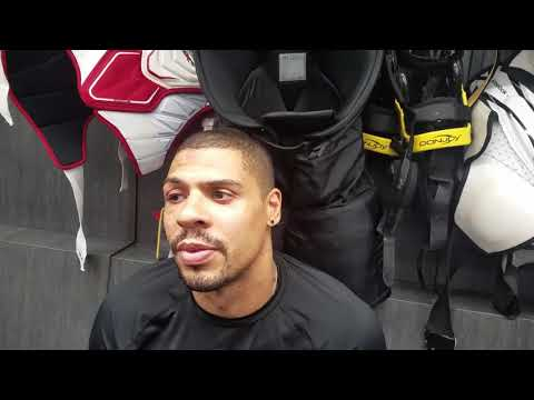 Ryan Reaves on the Golden Knights game 3 win