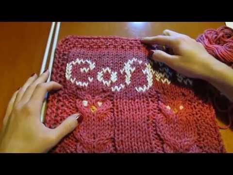 KNITTING TUTORIAL how to knit owls | GUFI PORTAFORTUNA, DIY - PARTE 2°