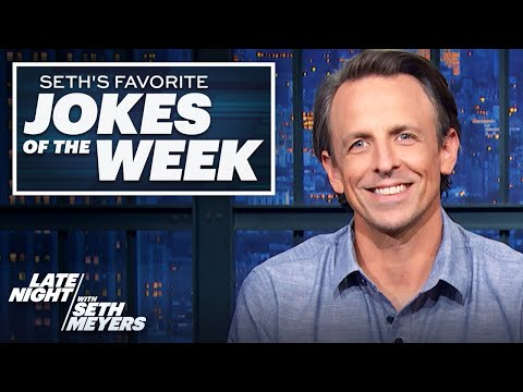 Seth's Favorite Jokes of the Week: Trump on 60 Minutes, Chicken Nugget in Space