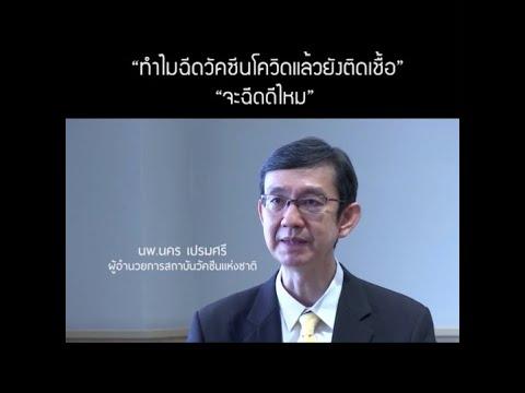 thaihealth ทำไมฉีดวัคซีนแล้ว ยังติดเชื้อได้
