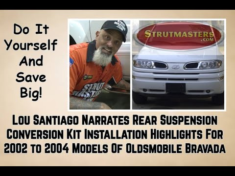 2002-2004 Oldsmobile Bravada Rear Air Suspension Conversion Installation