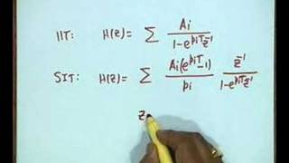 Lecture - 34 IIR Filter Design