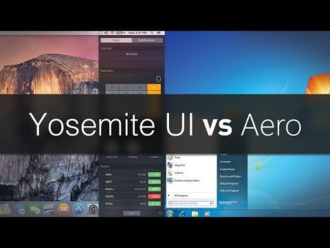 osx - Today, we'll examine the differences between the Yosemite UI and Windows Aero. They may be much more different than people think... BACK OUR EPIC SHORT FILM ...