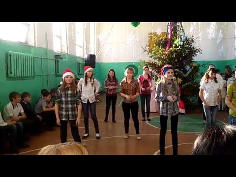 Флэшмоб на Новый Год (видео)