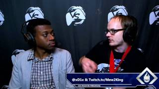 Interview with Mew2King at Paragon 2015