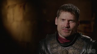 Peter Dinklage and Nikolaj Coster-Waldau discuss Tyrion and Jaime's reunion in Season 7. Game of Thrones airs on HBO on ...