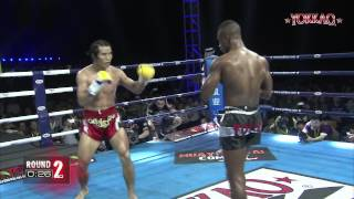Xinyang China  city photos gallery : YOKKAO 9 China: Fang Bian vs Carl N'Diaye - K-1 rules