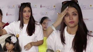 Video Emotional Aishwarya Rai Bachchan Crying in Public MP3, 3GP, MP4, WEBM, AVI, FLV November 2017