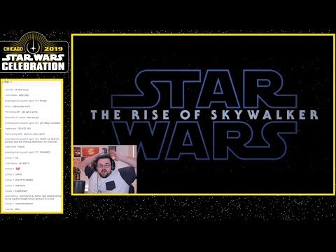 Star Wars: The Rise Of Skywalker (episode Ix) - Teaser Trailer Reaction