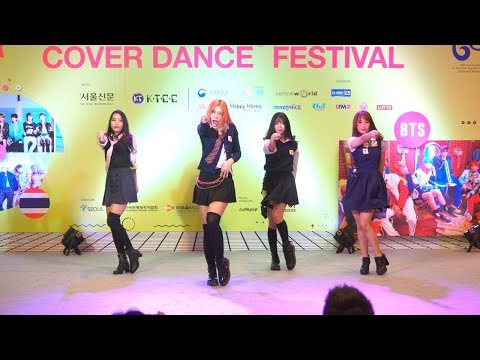 180512 4SEC Cover BLACKPINK - PLAYING WITH FIRE + AS IF IT'S YOUR LAST @ Thailand K-POP Cover Dance