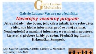 Náhled - Březnová pozvánka do Galerie Lautner