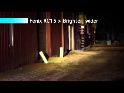 Відеоогляд ляхтаря Fenix RC15