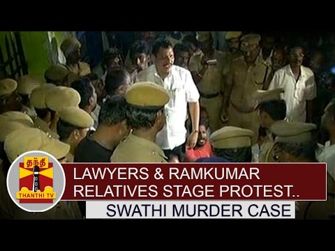 Lawyers-and-Ramkumar-Relatives-stage-protest-Against-Ramkumars-Suicide-Thanthi-TV