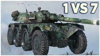 Panhard EBR 105 • THE FUN CONTINUES • WoT Gameplay