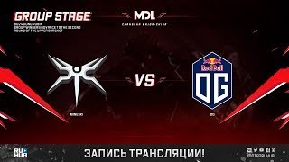 Mineski vs OG, MDL Changsha Major, game 1 [Maelsorm, LighTofHeaveN]
