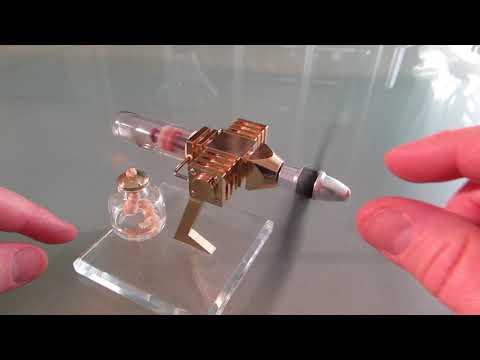 Desktop Stirling Model Airplane Engine