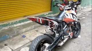 4. KTM DUKE 690 2009 REMUS sound check