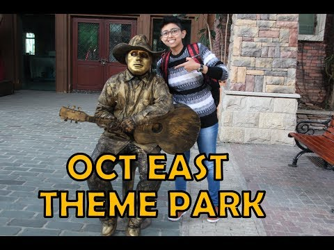 OCT EAST THEME PARK || TEA STREAM VALLEY || Shenzhen, CHINA