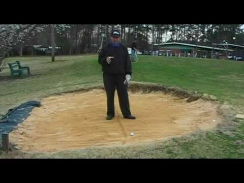 Golf Lesson – Basic Bunker Shot – Golf Sand Shot