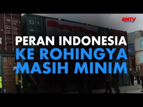 Peran Indonesia Ke Rohingya Masih Minim