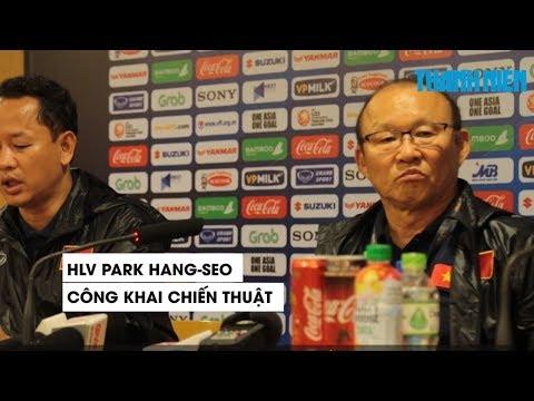 HLV Park Hang seo phân tích chiến thuật giúp U23 Việt Nam thắng U23 Thái Lan 4-0 - Thời lượng: 2:00.