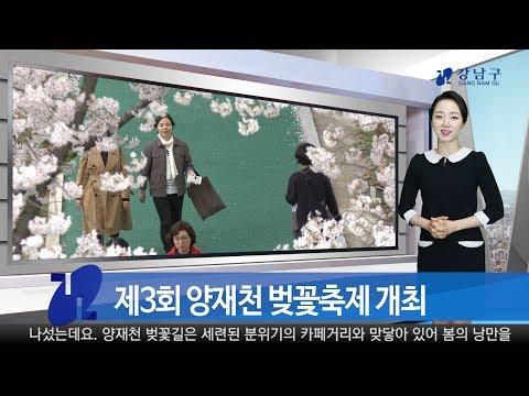 2018년 4월 둘째주 강남구 종합뉴스