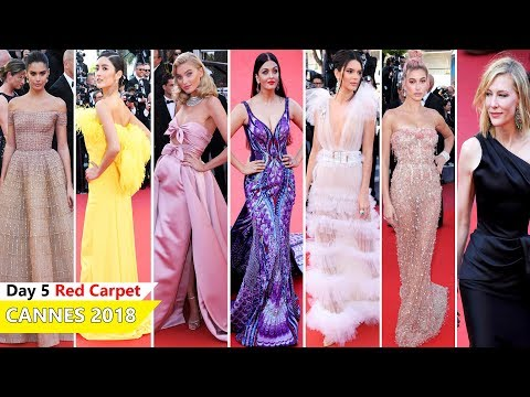 Cannes Film Festival 2018 [ DAY 5 ] Red Carpet | Full Video | Celebrity Dresses (видео)