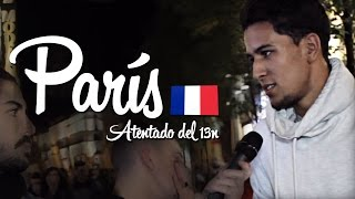ATENTADO DE PARÍS | Opiniones en Madrid