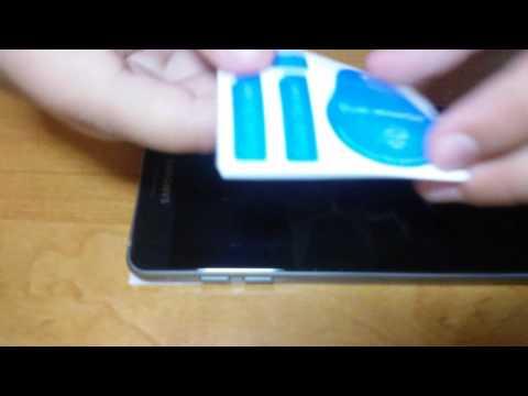 Samsung Galaxy A5 2016 full screen tempered glas protector (видео)