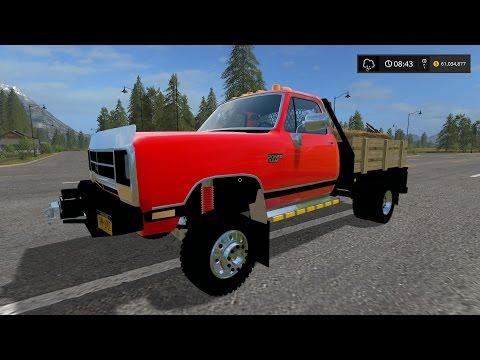 Dodge Ram D250 Flatbed
